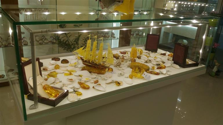 Магазин янтаря, г.Калининград